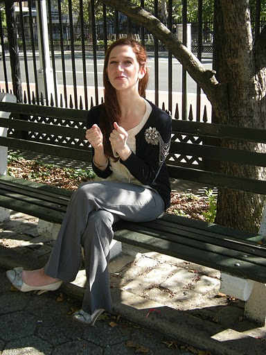 Lindsay on Bench