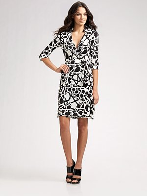Dvf Wrap Dresses At Macy's DVF Justin Wrap Dress