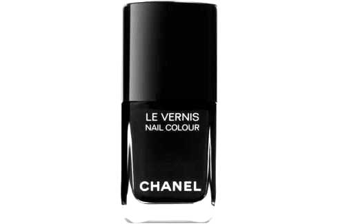 neutral nail polish colors. Chanel Nail Colour in Black,