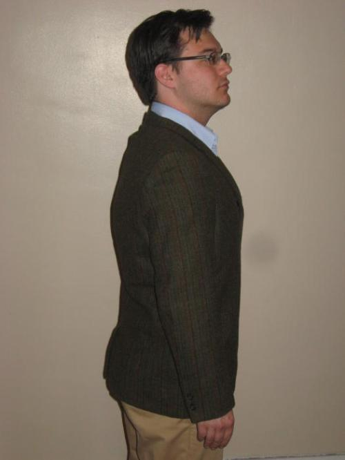 tweed sport coat